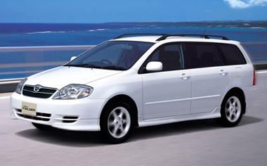 Toyota Corolla Fielder X LIMITED MT 1.5 (2002)