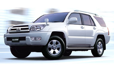Toyota Hilux Surf SSR-X 4WD AT 2.7 (2002)