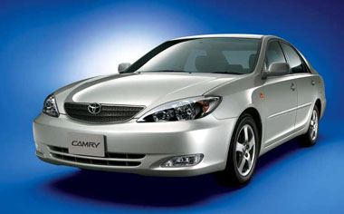 Toyota Camry 2.4G LIMITED EDITION NAVI PACKAGE 4WD AT 2.4 (2003)