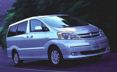 Toyota Alphard Hybrid ALPHARD HYBRID G EDITION 4WD CVT 2.4 8PASS (2003)