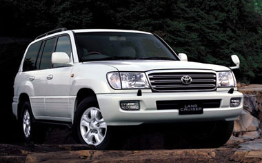 Toyota Land Cruiser VX LIMITED PREMIUM EDITION G SELECTION 4WD AT 4.7 (2003)