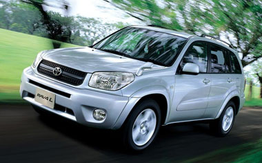 Toyota RAV4 J WIDE SPORT 4WD 5DOOR AT 2.0 (2003)