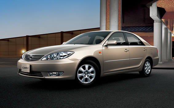 Toyota Camry 2.4G LIMITED EDITION NAVI PACKAGE 4WD AT 2.4 (2004)