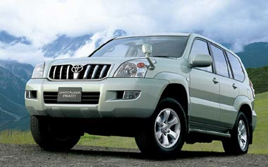Toyota Land Cruiser Prado TX 4WD 5 DOOR AT 3.0 DIESEL 8PASS (2004)