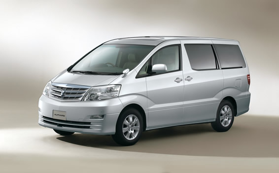 Toyota Alphard V AX L EDITION AT 2.4 8PASS (2005)