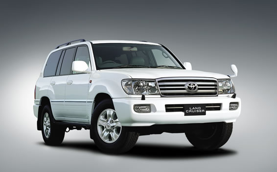 Toyota Land Cruiser VAN VX LIMITED G SELECTION 4WD AT 4.2 (2005)