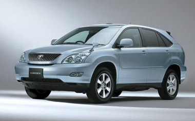 Toyota Harrier 350G L PACKAGE 4WD AT 3.5 (2006)