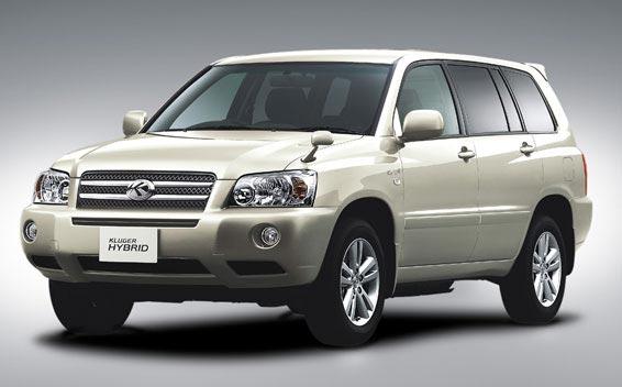 Toyota Kluger Hybrid 1