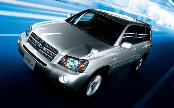 Toyota Kluger Hybrid 4