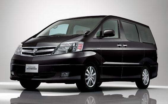 Toyota Alphard Hybrid HYBRID G EDITION 4WD CVT 2.4 8PASS (2006)