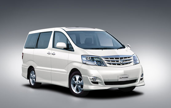 Toyota Alphard V AX 4WD AT 2.4 8PASS (2007)