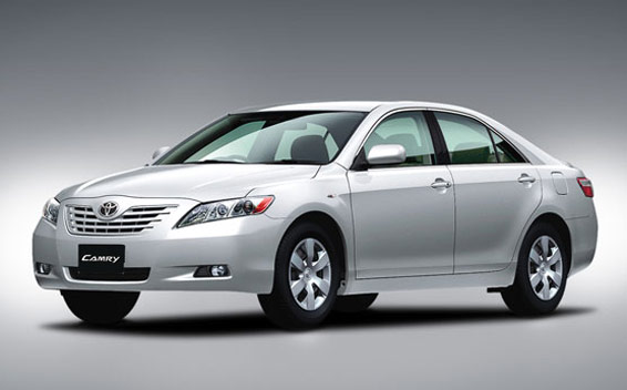 Toyota Camry G FOUR LIMITED EDTION 4WD AT 2.4 (2007)