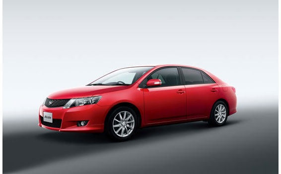 Toyota Allion A18 S PACKAGE CVT 1.8 (2009)
