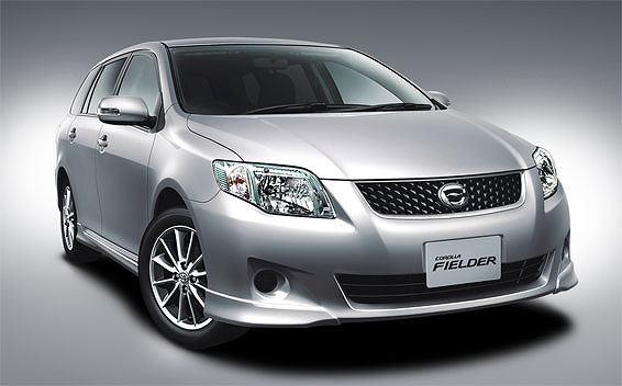 Toyota Corolla Fielder 1.5X CVT 1.5 (2009)