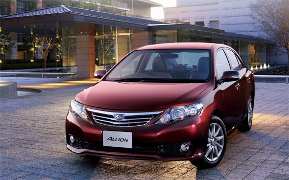 Toyota Allion A20 CVT 2.0 (2010)