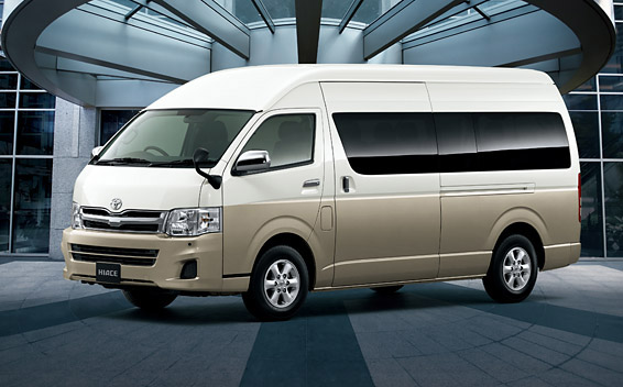 Toyota Hiace Wagon DX 4WD AT 2.7 (2010)
