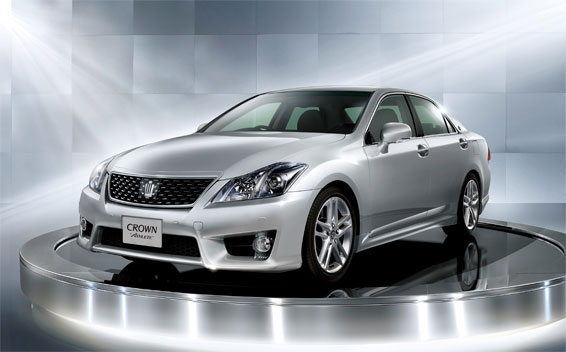 Toyota Crown Athlete Series ATHLETE I-FOUR ANNIVERSARY EDITION 4WD AT 2.5 (2010)