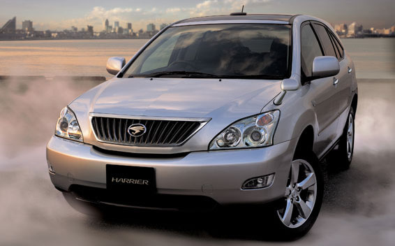 Toyota Harrier 240G L PACKAGE ALCANTARA SELECTION AT 2.4 (2011)