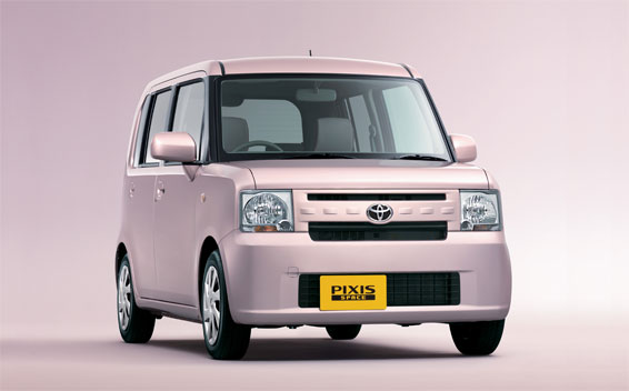 Toyota PIXIS SPACE L CVT 0.66 (2012)