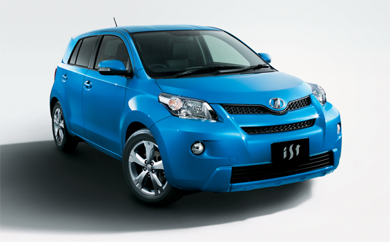 Toyota IST 150G 4WD CVT 1.5 (2012)