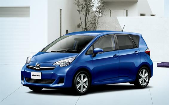 Toyota Ractis X SMART STOP SELECTION CVT 1.3 (2011)