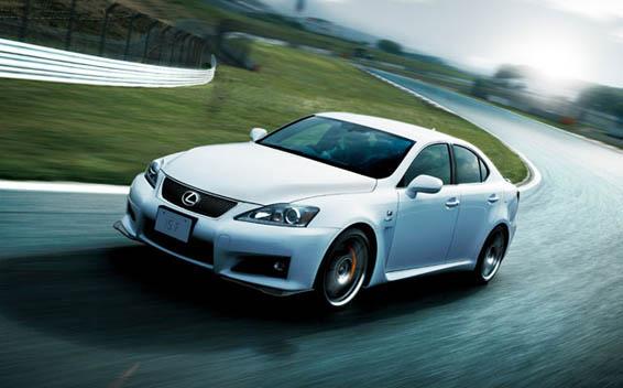 Lexus IS F 3