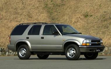 GM Blazer LS RHD 4WD AT (2002)