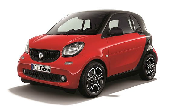 Mercedes-Benz ForTwo CP