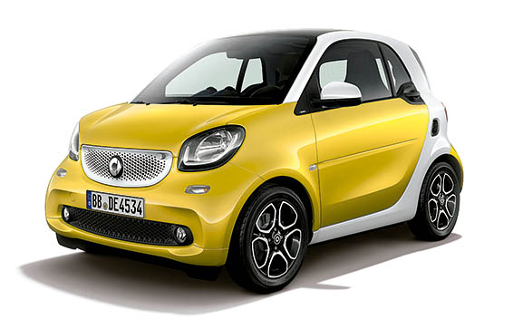 Mercedes-Benz ForTwo CP 2
