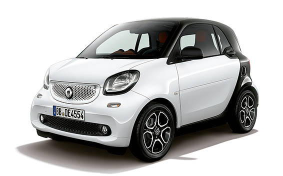 Mercedes-Benz ForTwo CP 4