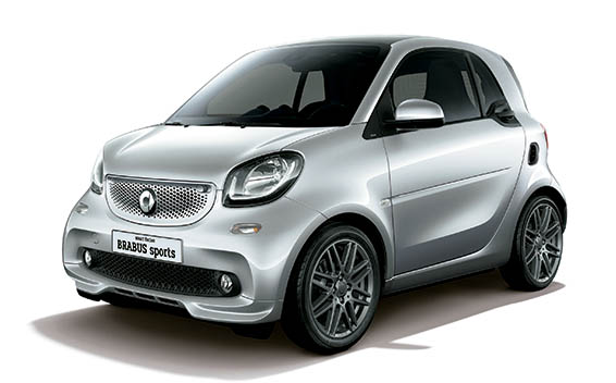 Mercedes-Benz ForTwo CP 15