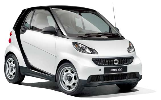 Mercedes Benz Smart Fortwo Coupe Turbo Rhd At 1 0 2017