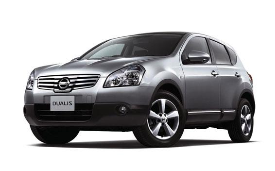 Nissan Dualis 20G FOUR URBAN BLACK LEATHER 4WD CVT 2.0 (2010)