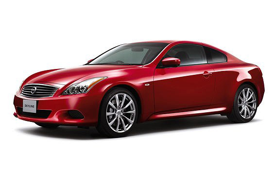 Nissan Skyline Coupe 370GT TYPE P LIMITED AT 3.7 (2012)
