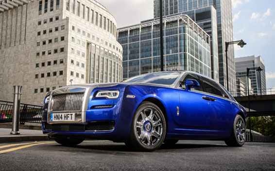 Rolls-Royce GHOST GHOST SERIES II LHD AT 6.6 (2014)