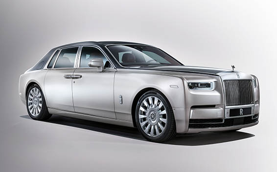 Rolls-Royce Phantom PHANTOM EXTENDED WHEELBASE 5PASS RHD AT 6.8 (2018)