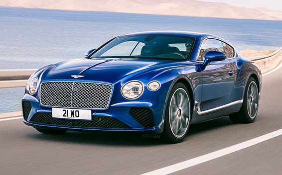 Bentley Continental GT CONTINENTAL GT RHD 4WD DCT 6.0 (2017)