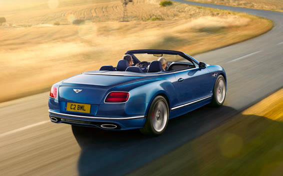 Bentley Continental GTC 20