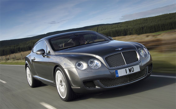 Bentley Continental GT GT LHD 4WD AT 6.0 (2009)