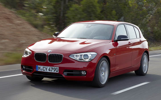 BMW 1 Series 116I YOUNG LINE RHD AT 1.6 (2014)