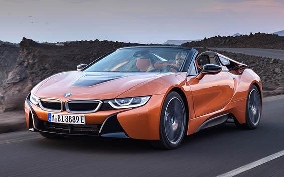 BMW i8 Roadster 1