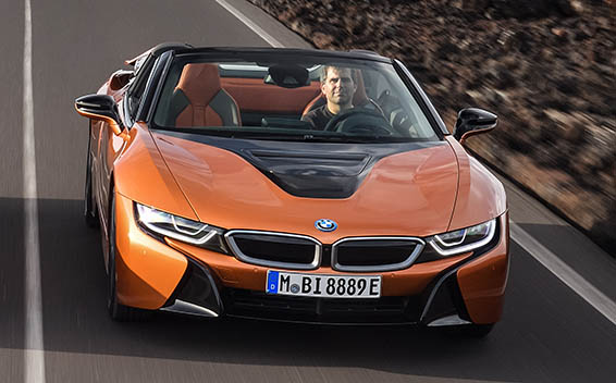 BMW i8 Roadster 5