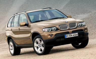 BMW X5 3.0I RHD 4WD AT 3.0 (2003)