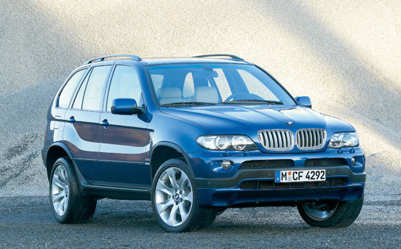 BMW X5 4.8IS LHD 4WD AT 4.8 (2004)