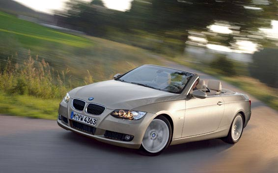 BMW 3 Series Cabrioret 335i CABRIOLET RHD AT 3.0 (2008)