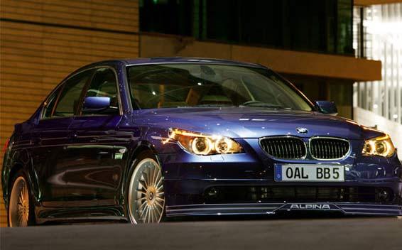BMW Alpina B5 Super Charge 1