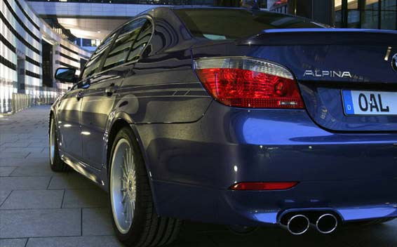 BMW Alpina B5 Super Charge 8