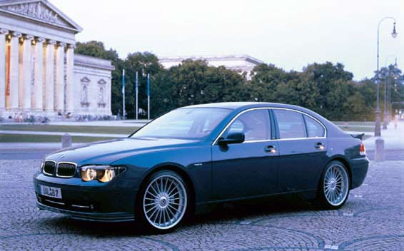 BMW Alpina B7 Super Charge 1