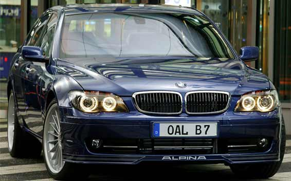 BMW Alpina B7 Super Charge 4