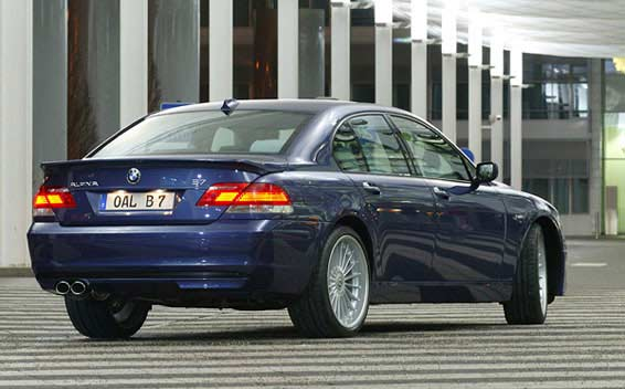 BMW Alpina B7 Super Charge 5